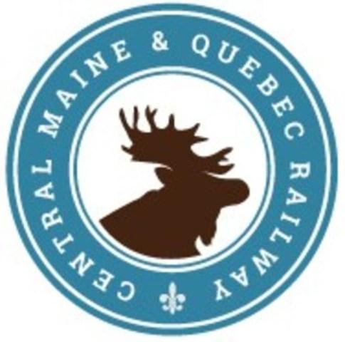 Logo du chemin de fer Central Maine & Quebec (Groupe CNW/Central Maine & Quebec Railway)