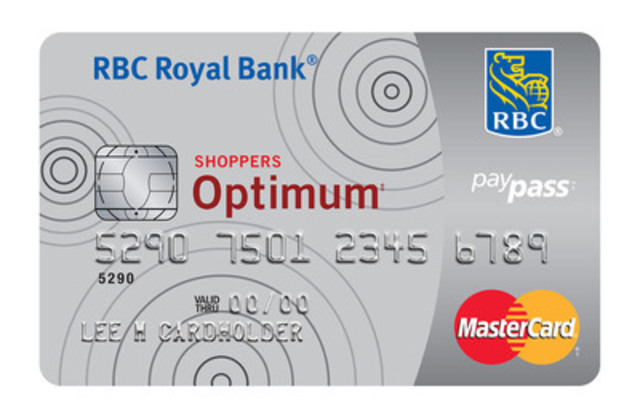 NEW SHOPPERS OPTIMUM MASTERCARD (CNW Group/RBC)