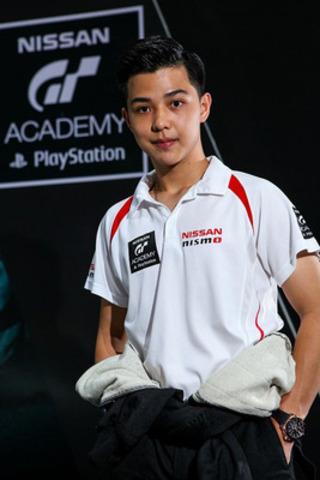 Thanaroj Thanasitnitiket, originaire de Thaïlande, vainqueur de la compétition Nissan PlayStation GT Académie 2014, participera à la saison inaugurale de la Coupe Nissan Micra. (Groupe CNW/Nissan Canada Inc.)