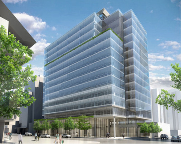 980 Howe Street, Vancouver, British Columbia - Property Type: Downtown Office, Building Size: 250,000 SF, Number of Storeys: 16 (CNW Group/Manulife Financial Corporation)