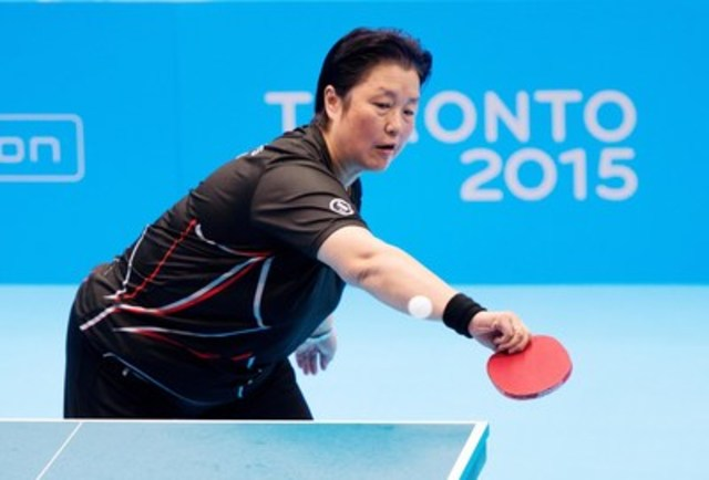 The Canadian Paralympic Committee and Table Tennis Canada announced today that Stephanie Chan of Richmond, B.C. has been nominated for selection to Team Canada for this September's Rio 2016 Paralympic Games. Photo: Matthew Murnaghan / Canadian Paralympic Committee (CNW Group/Canadian Paralympic Committee (CPC))