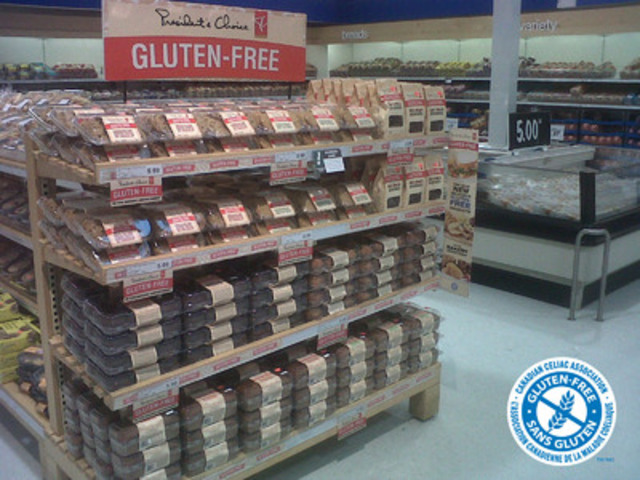President's Choice® carries the GFCP trademark (CNW Group/Allergen Control Group Inc.)