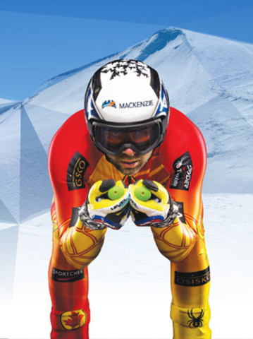 Canadian Olympic and World Cup downhill skier Manny Osborne-Paradis signs a three-year sponsorship deal with Mackenzie Investments. (CNW Group/Mackenzie Investments)