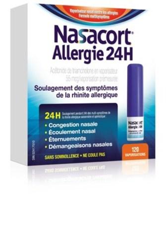 Nasacort Allergie 24H(MC) (Groupe CNW/Pendopharm)