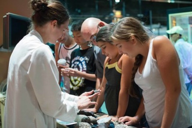 Science rocks – literally! Visitors learn about the crystal structures of minerals and the properties of ...