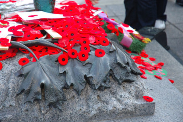 Another Successful Poppy Campaign (CNW Group/The Royal Canadian Legion Dominion Command)