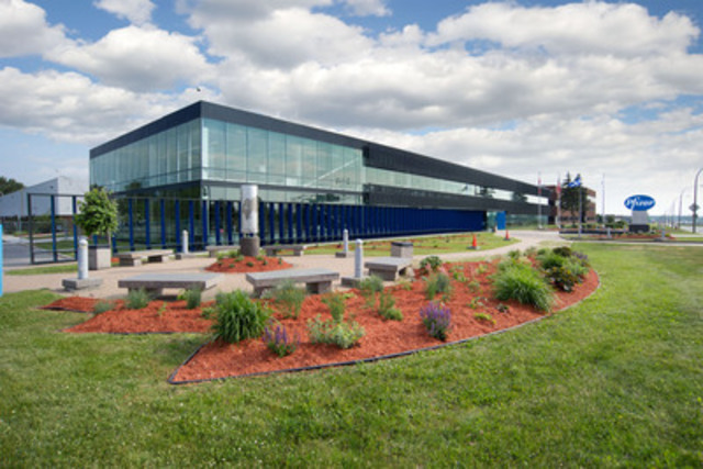 Pfizer Canada Headquarters Montreal (CNW Group/PFIZER CANADA INC.)