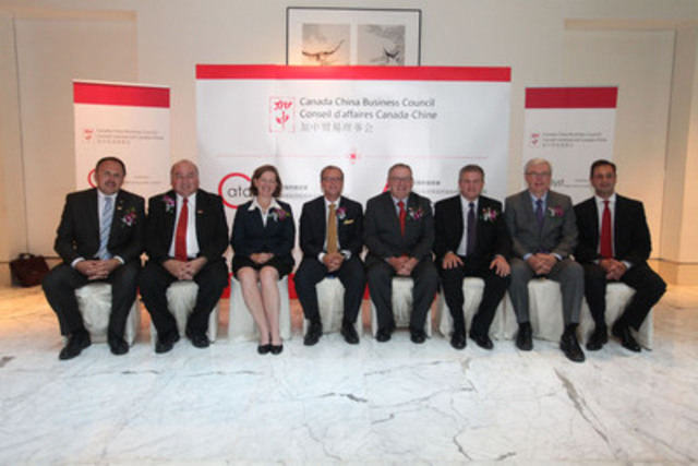 Photo officielle: Mission en Chine 2012 du Conseil de la fédération (Groupe CNW/CONSEIL DE LA FEDERATION)