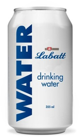 Labatt is providing 48,000 cans of emergency drinking water to the residents and fire fighters affected by forest fires in Saskatchewan, British Columbia and Alberta. (CNW Group/Labatt Breweries of Canada)