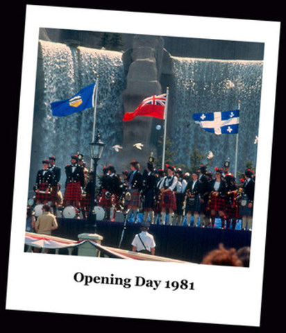 Canada's Wonderland Opening Day: May 23, 1981 (CNW Group/Canada's Wonderland Company)