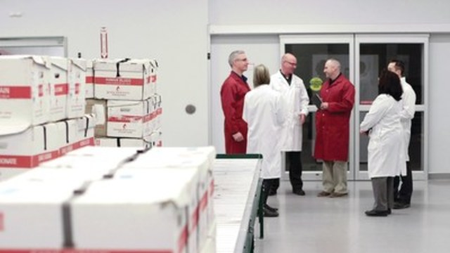 Two Unlikely Partners, One Powerful and Innovative Collaboration: Toyota Teams With Canadian Blood Services To Improve Productivity, Service and Quality for Canadians (CNW Group/Toyota Canada Inc.)