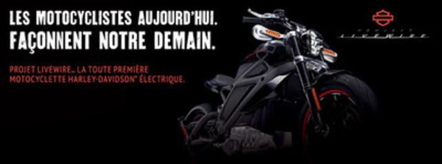 Les 11-12 et 13 septembre prochain, Léo Harley-Davidson® de Brossard sera le seul concessionnaire Harley-Davidson® dans l'est du Canada à recevoir le Project LiveWire™.  Des centaines de personnes auront la chance d'essayer et de commenter cette nouvelle technologie (Groupe CNW/Léo Harley-Davidson)