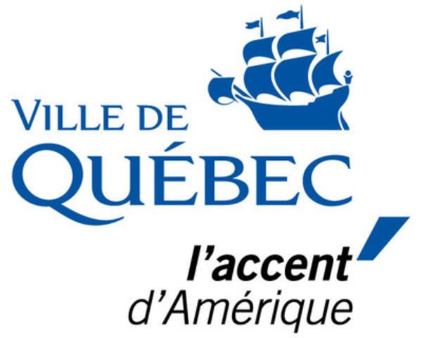 Logo: Ville de Québec (CNW Group/Ville de Québec)