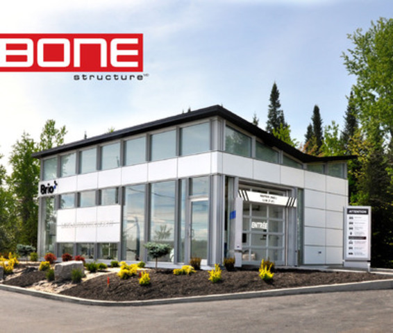 BONE Structure® ensures the deployment of the new BRIO Intelligent car wash (CNW Group/BONE STRUCTURE)