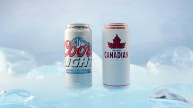 Molson Coors Canada annonce le lancement de la toute nouvelle cannette ventilée. (Groupe CNW/Molson Coors Canada)