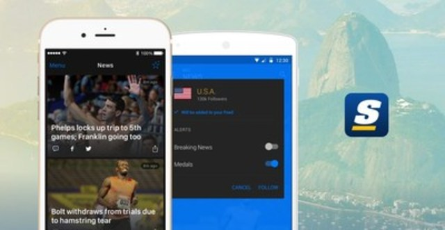 theScore is providing full coverage of Rio 2016 (CNW Group/theScore, Inc.)