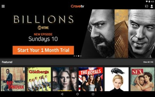CraveTV now available to all Canadians with internet access (CNW Group/CraveTV)