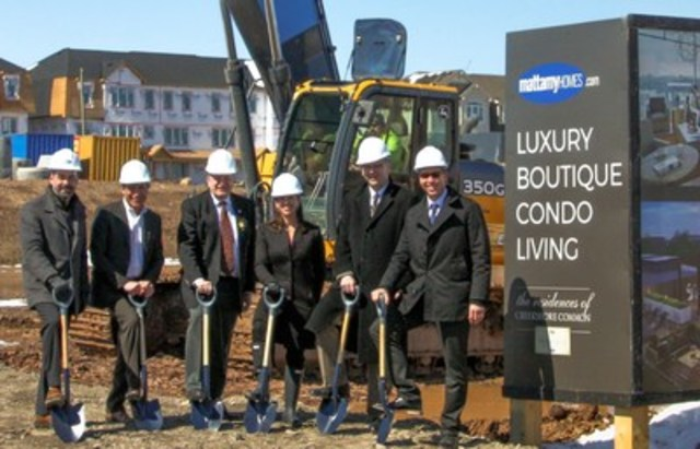 The ground was broken on April 5 for Mattamy Homes' newest Oakville community, The Residences at ...