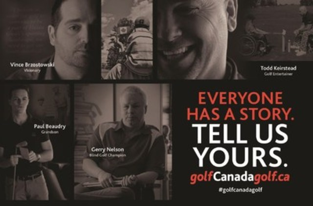 Canadians encouraged to share their stories at: www.golfcanadagolf.ca and get involved all season long using ...
