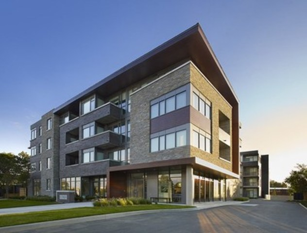 Mod'rn Condominium in Burlington is complete and fully sold out (CNW Group/Fortress Real Developments)