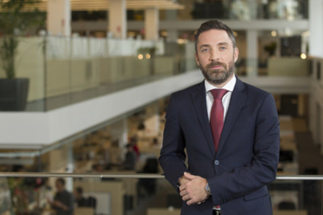 Pierre-Elliott Levasseur est nommé président de La Presse (Groupe CNW/La Presse)