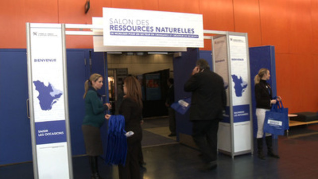 Video: CCMM - La Chambre de commerce du Montréal métropolitain tenait vendredi et samedi son Salon des ressources naturelles, organisé dans le cadre de son initiative pour valoriser ce secteur.