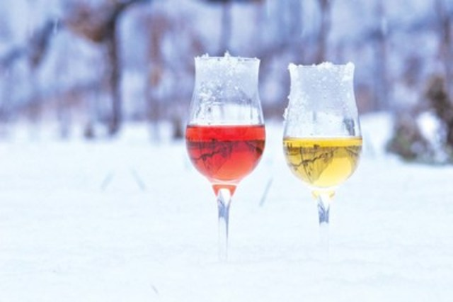 Enjoy both red and white Icewine from Ontario (CNW Group/Wine Marketing Association of Ontario)