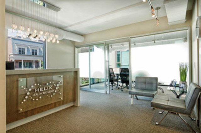 Helix Healthcare Group, Yorkville Location (CNW Group/Ireland and Hall Communications Inc)