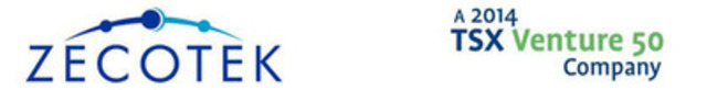 Zecotek Photonics - Top 50 TSX Venture Company (CNW Group/Zecotek Photonics Inc.)
