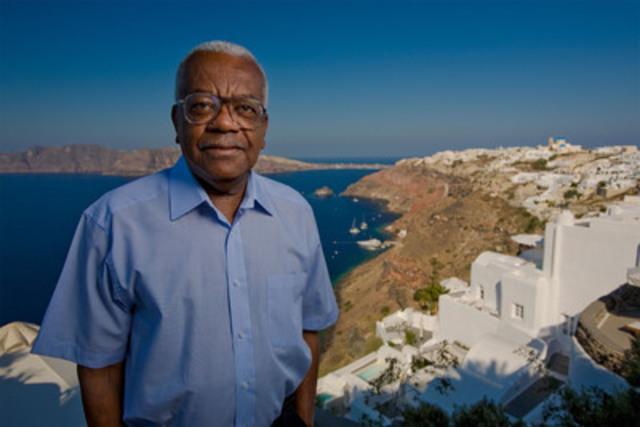 Broadcaster and host of Secret Mediterranean, Sir Trevor McDonald. (CNW Group/TVO)