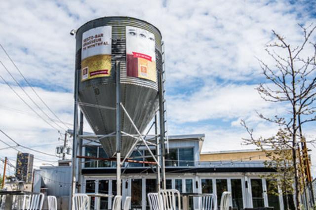 L'emblématique tour de la microbrasserie Brasseur de Montréal dans le quartier historique de Griffintown. (Groupe CNW/Brasseur de Montréal)