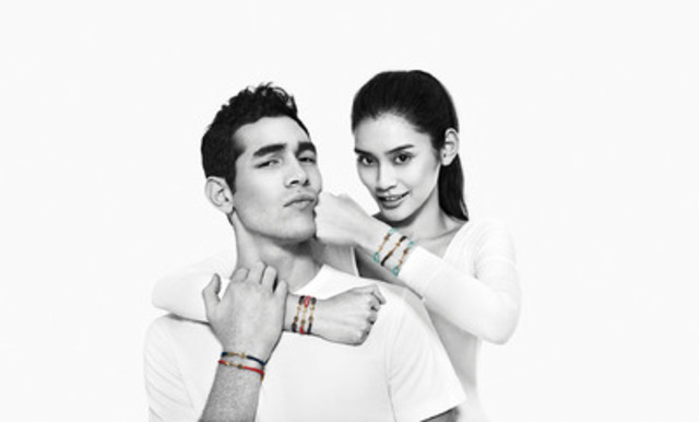 ALDO Fights Aids Campaign - #FriendsFight (CNW Group/ALDO Group)