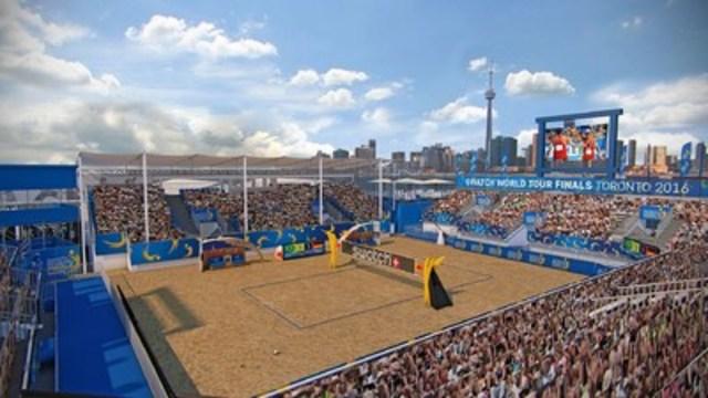 Toronto est prête à accueillir l'événement Swatch Beach Volleyball FIVB World Tour Finals (Groupe CNW/Swatch Beach Volleyball Major Series)