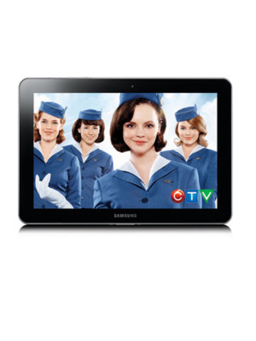 CTV's Pan Am on Bell Mobile TV (CNW Group/BELL MOBILITY)