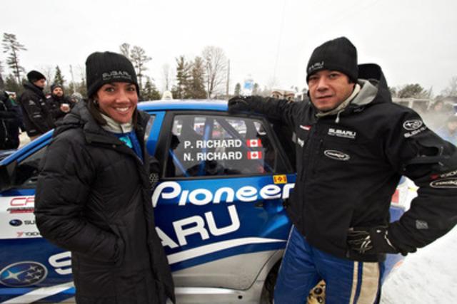Subaru Rally Team Canada at 2013 Rally of the Tall Pines. Photo credit: Mat Janiak. (CNW Group/Subaru Canada Inc.)