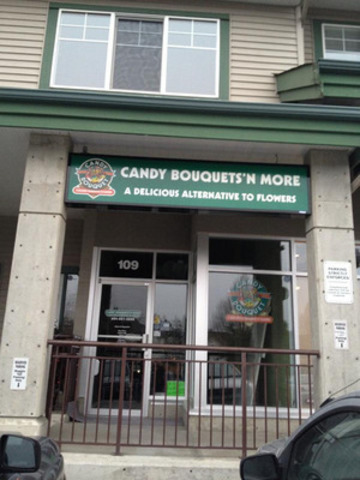 Candy Bouquet franchise comes to Lower Mainland with opening of Candy Bouquets 'n More in Langley (CNW Group/Candy Bouquets 'n More)