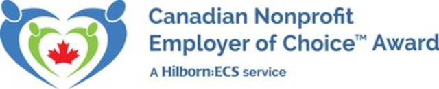 Canadian Nonprofit Employer of Choice Award (CNW Group/Hilborn:ECS)