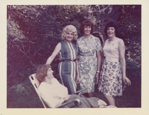 Unknown American - Susanna and three friends outside, 1964-1969 chromogenic print 8.9 × 10.8 cm (3 1/2 × 4 1/4 in.) Collection of the Art Gallery of Ontario Purchase, with funds generously donated by Martha LA McCain, 2015 © Art Gallery of Ontario (CNW Group/Art Gallery of Ontario)