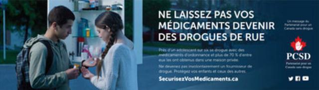 Ne laissez pas vos médicaments devenir des drogues de rue (Groupe CNW/Corporation Shoppers Drug Mart)