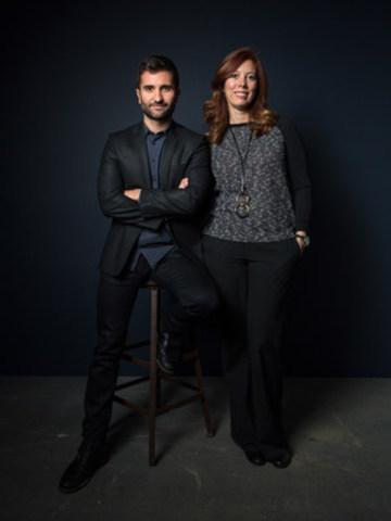 Arnaud Granata et Clodine Chartrand : nouveaux dirigeants d'Infopresse (Groupe CNW/Éditions Infopresse)